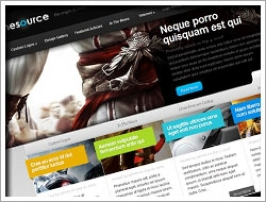 Wordpress The Source Theme