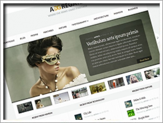 Wordpress Aggregate Theme