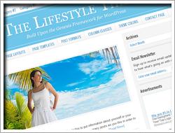 Wordpress Lifestyle Theme