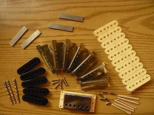 Guitar Parts by Roadside Guitar via Flickr