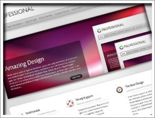 Wordpress The Professional Theme