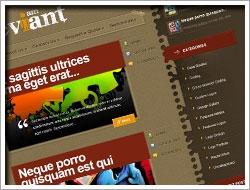 Wordpress Deviant Theme