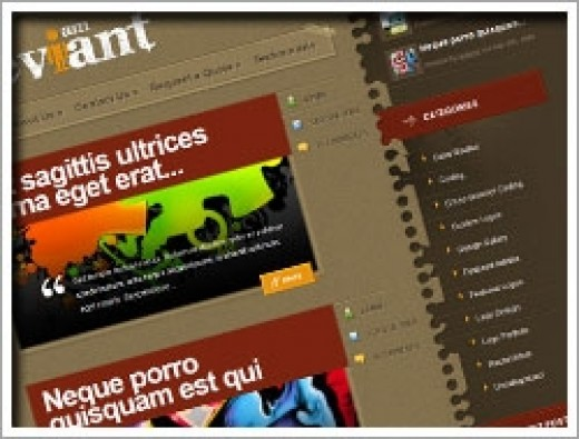 Wordpress Deviant Theme