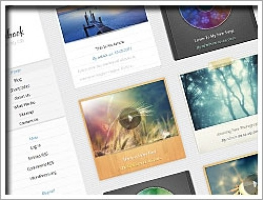 Wordpress Notepad Theme