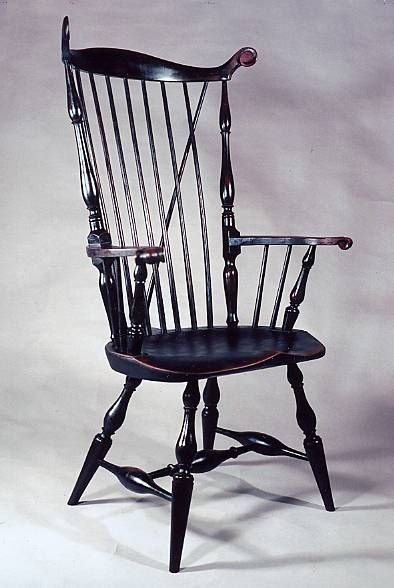 Nuttucket Fan-Back Chair by Peter Wallace