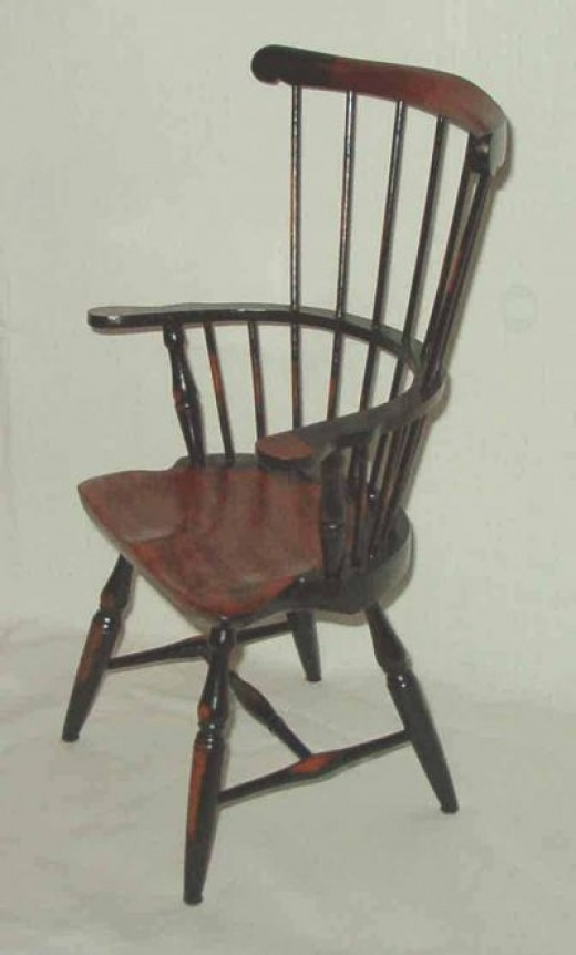 Imported Miniature Windsor Chairs