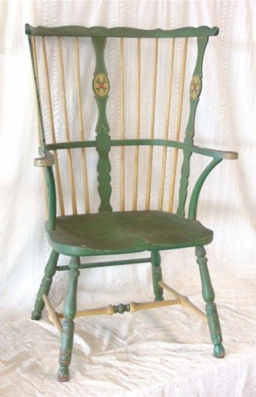 High Back Windsor Chair