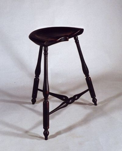 3 Leg Bar Windsor Stool - Peter Wallace