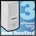 Web Hosting Options: 3 Types of Hosting