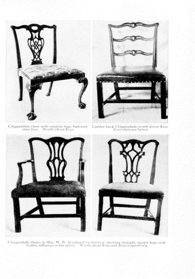 English Walnut Queen Anne Chairs - A Photo Guide To Antique Chair Identification Dengarden
