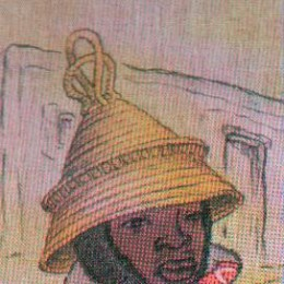 STRAW HATS AND BASKETS ARE MADE BY THE SOTHO MEN