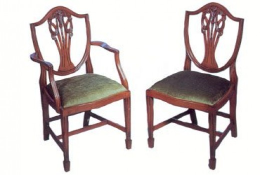 a photo guide to antique chair identification dengarden. Black Bedroom Furniture Sets. Home Design Ideas