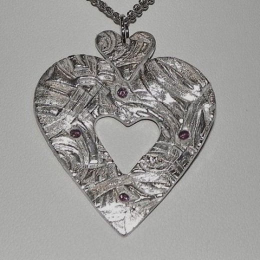 Triple Heart Jewelry Pendant