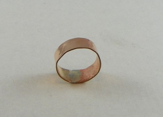 Ring with Silver Solder Inside