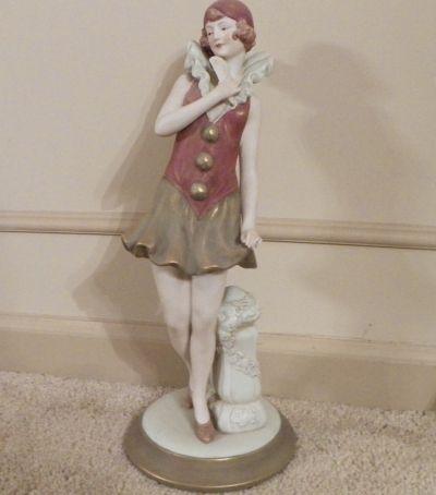 Royal Dux Figurine, Czechoslovakia