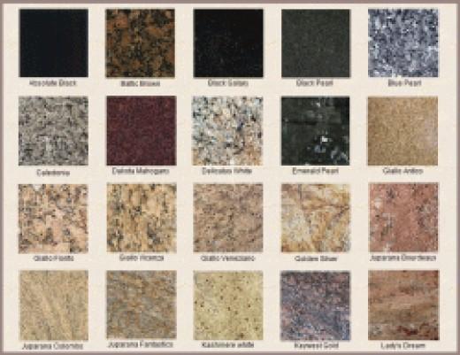 Granite Countertop Colors