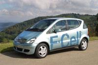 Daimler Fuel Cell Hydrogen Car