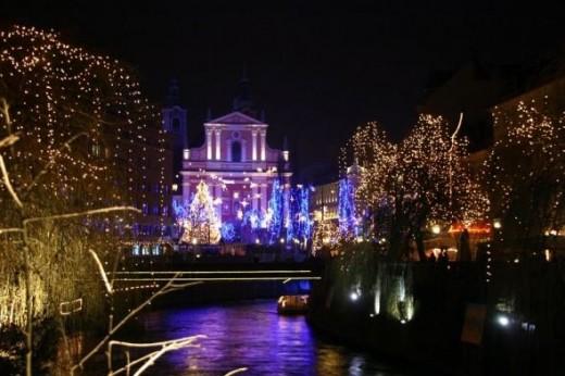 December in Ljubljana