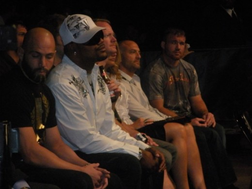 UFC Fighter Quinton 'Rampage' Jackson at a recent UFC event.