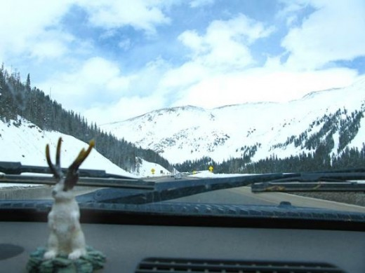 Dashboard paradise in the Rockies.