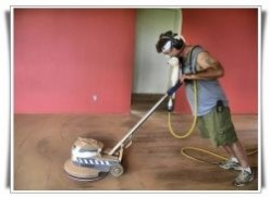 How to remove tar paper from hardwood floors