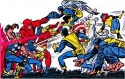 Classic Avengers vs. X-Men