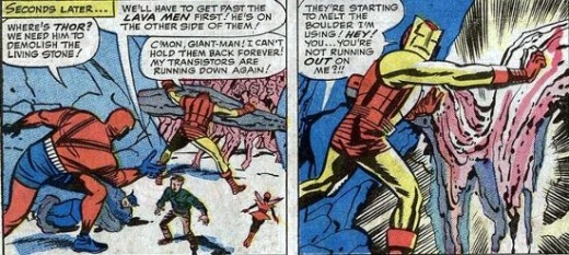 The Avengers often showed individualistic tendencies, represented here in Avengers #5 (1964)