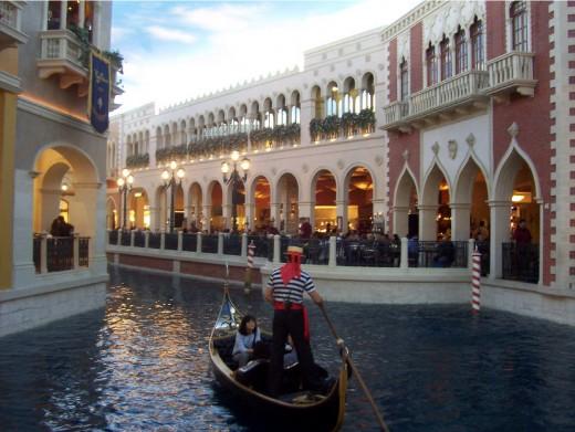 Venetian Gondola ride