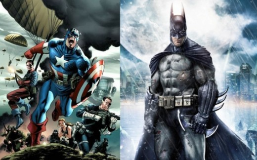 Scenario #3, Captain America vs. Batman, All Out War!