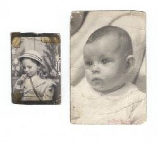 Baby photos of Harriet