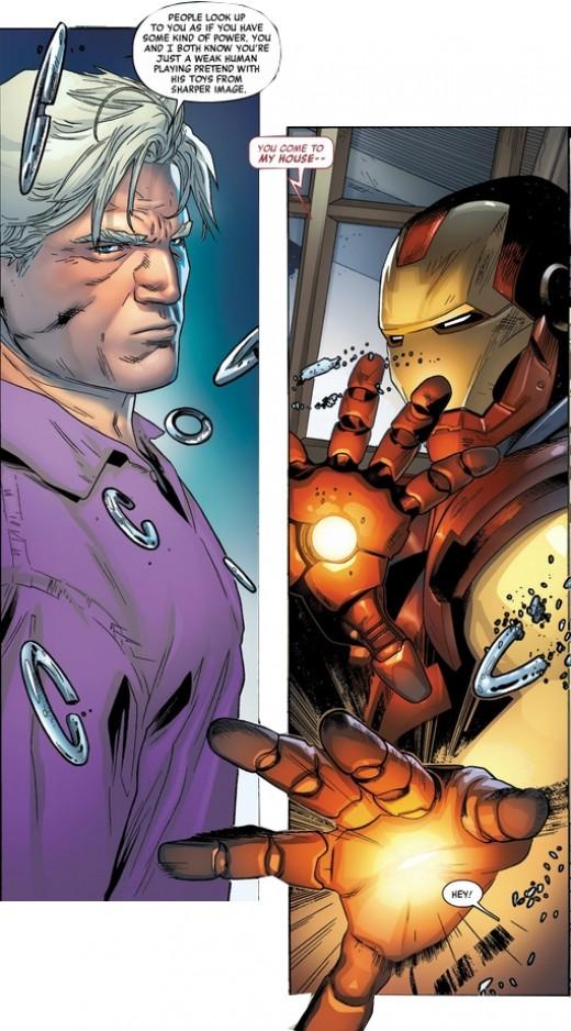 Magneto: Not A Hero #1, excerpt