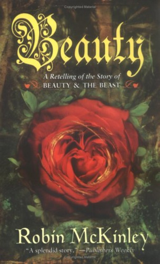 "The cover of McKinley's first novel, ""Beauty"""