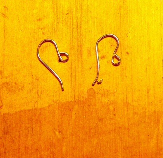Ready made ear wires