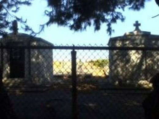 Local cemetery.