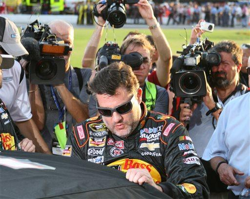The decision of whether or not to charge Tony Stewart has drawn media members to race weekends