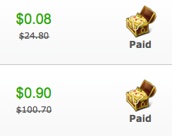 Look how much I saved!