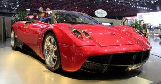 Pagani Huayra - fewer people will own the real one than the model