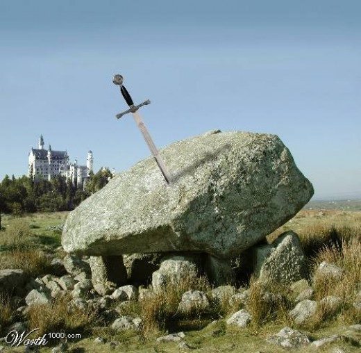 Typical Sword-in-Stone