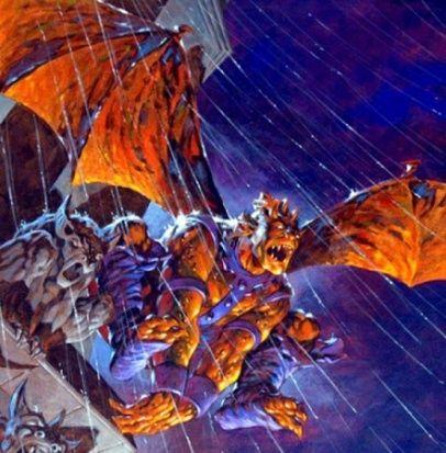 Isaac Christians, The Gargoyle