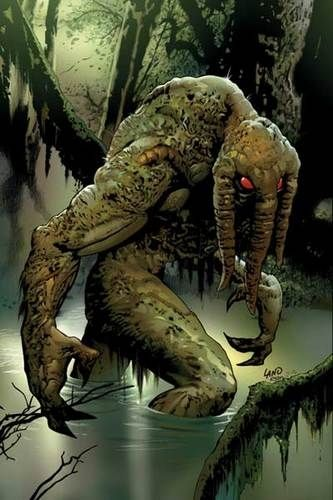 Ted Sallis, The Vogornius Koth known as The Man-Thing
