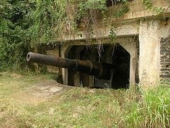 Cannon Installation at Xiuying Battery by drs2biz, on Flickr