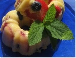 Summer Berry Fruit Mould
