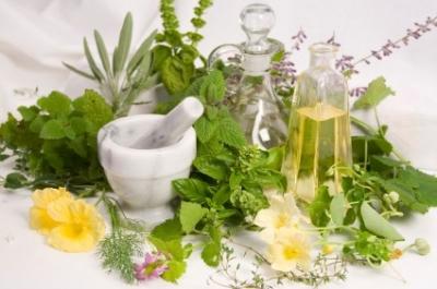 A Kitchen Garden Provides Fresh Herbs All Summer Long