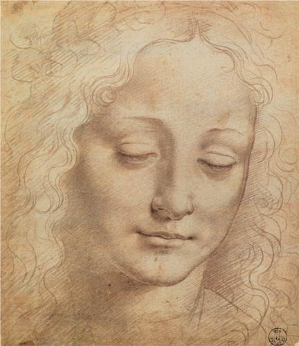 da Vinci, female head