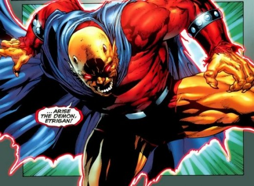 Jason Blood and The Demon Etrigan