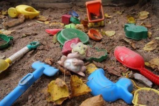 Dirty toys