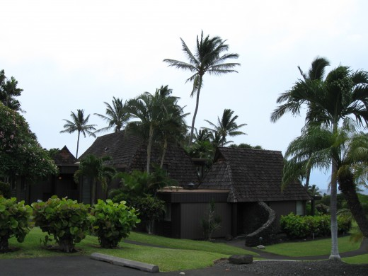Timeshare units at new Sea Mountain Resort in Panalu'u, Hawaii