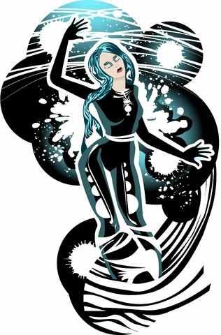 Aquarius-woman-with-Taurus