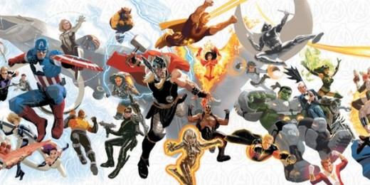 Poster Art released with Avengers #24 (2013), the first release from All-New Marvel NOW!
