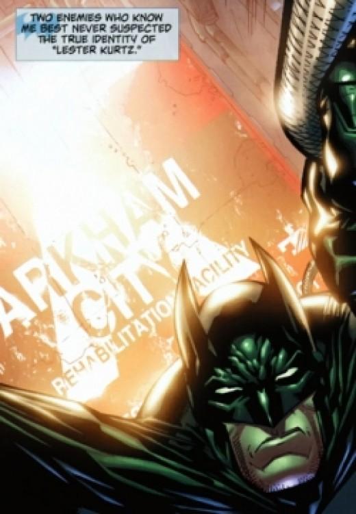 Batman: Arkham City #3, excerpt